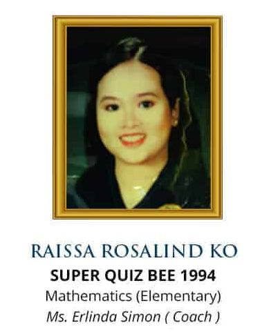 Super Quiz Bee 1994